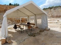 Pausen-Zelt