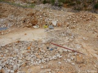 zweite Grabungsstelle 2